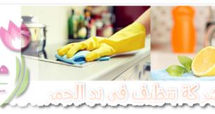 شركة تنظيف في ند الحمر